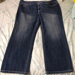 New inc denim plus size blue jeans